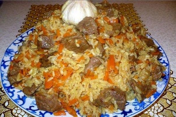 Вкусный плов рецепт с фото пошагово