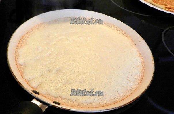 Как сделать блины на кислом молоке рецепт с