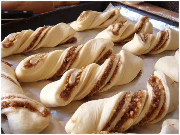 ореховые булочки рецепт фото