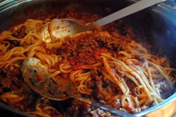 Как сделать мясной соус к спагетти