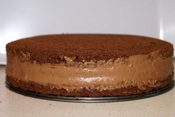 Пошаговый фото рецепт шоколадного торта
