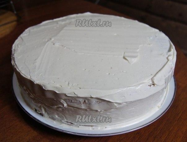 Красный крем для торта в домашних условиях