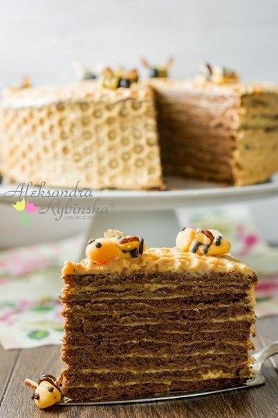 Торт соты рецепт фото