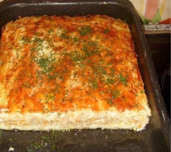 Запеканки с капустой с фаршем в духовке рецепты